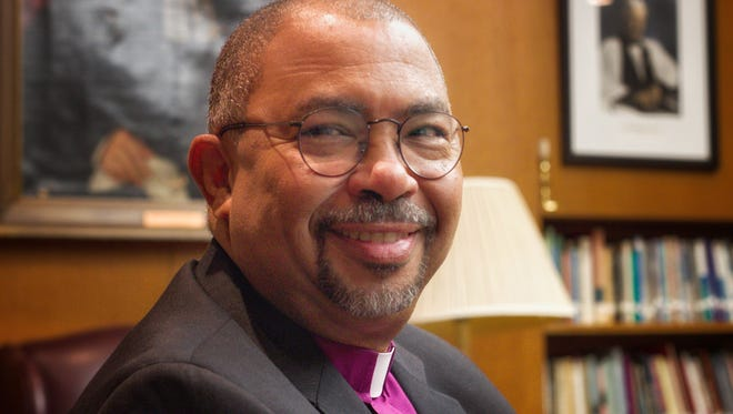 The Rt. Rev'd Wendell N. Gibbs Jr., a bishop who leads the Episcopal Diocese of Michigan