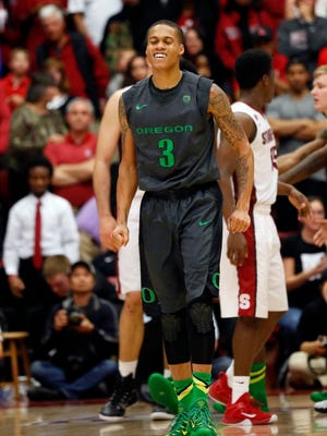 Oregon guard Joseph Young was named the Pac-12 Player of the Year.