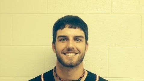 Pisgah baseball player Thomas Tatham.