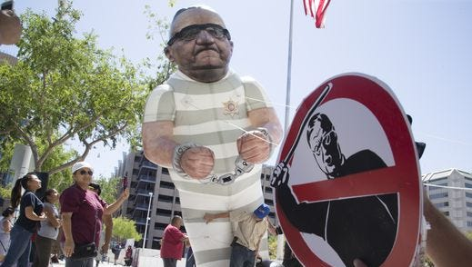 Given Arizona's history, most who joined the resistance to former Maricopa County Sheriff Joe Arpaio took his actions personally.
