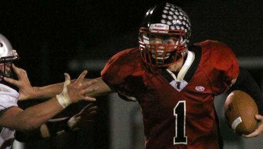 Abbotsford's Ean Rau and the Falcons are hosting Waken Area/Laona in a WIAA Division 6 Level 1 game Friday.