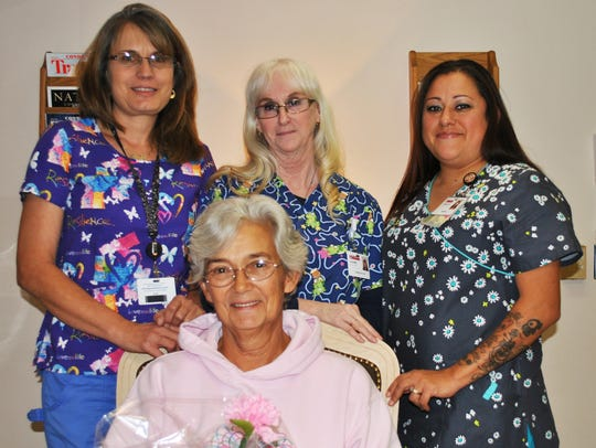 GRMC Mammography Department hosted a month long gift