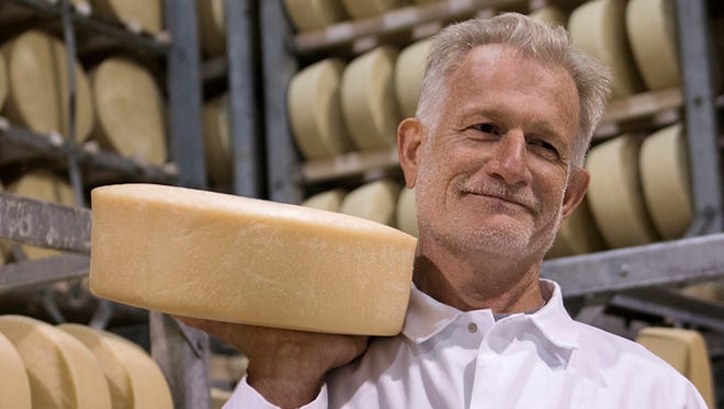 Mike Matucheski, who grew up in Antigo, led a Sartori Co. team to two finalist honors in the 2018 World Championship Cheese Contest in Madison.
