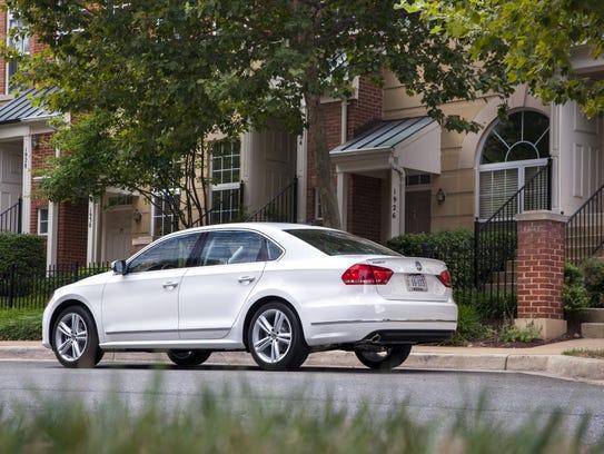 2014 VW Passat rear