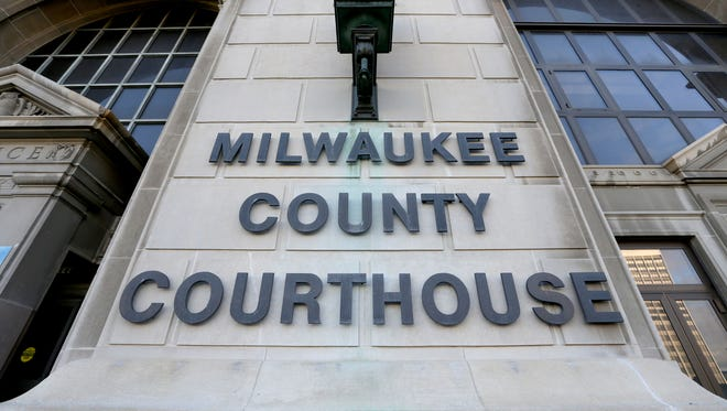 The Milwaukee County Courthouse.