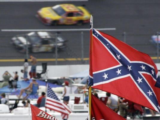 Confederate flag-H