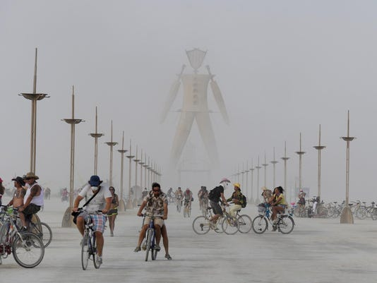 Burning Man Thrusday