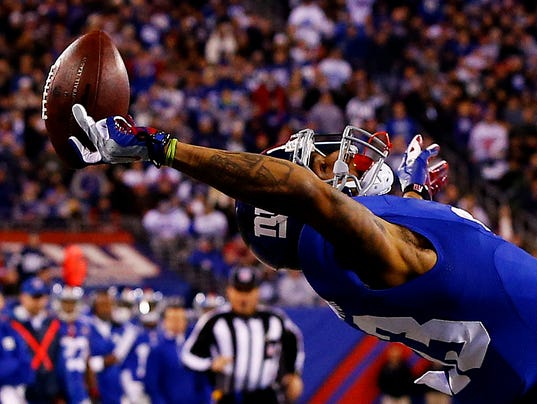 new york giants touchdown catch collections