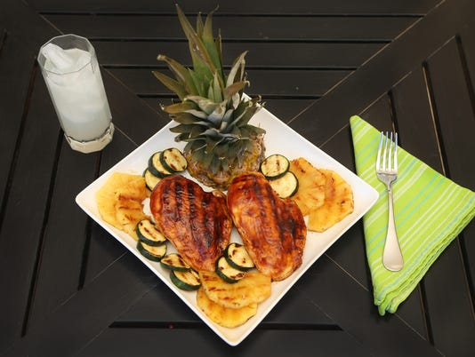 Foods that cool gallery   Grilled Hawaiian chicken closer H