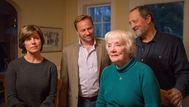 """Marjorie Prime"" cast members (from left) Blair Nichols, Tres Cozine, Pat Scott and Mark A. Nichols."