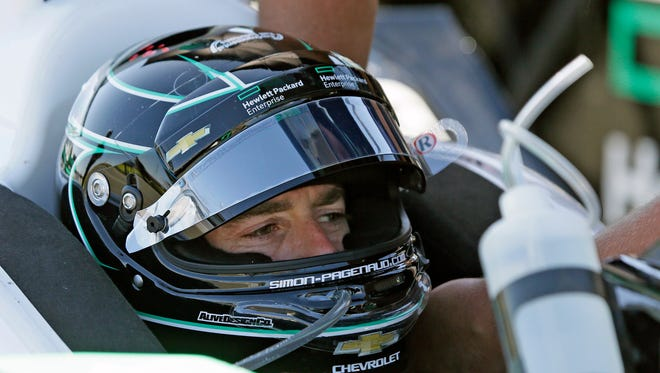 Simon Pagenaud says Honda is better than Chevy right now.