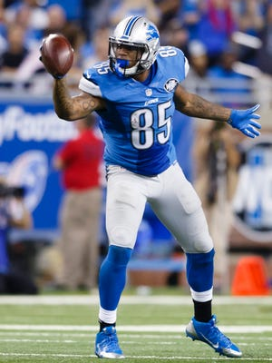 Detroit Lions tight end Eric Ebron.