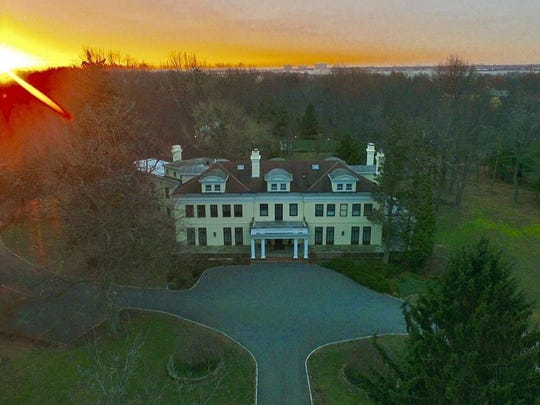 An aerial shot of 91 Rumson Road in Rumson, which is no longer on the market.