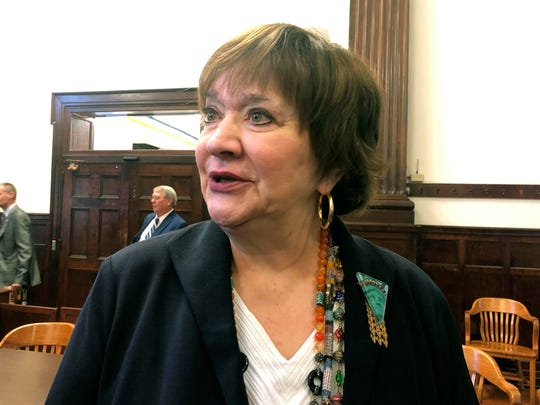 West Virginia Supreme Court Justice Margaret Workman was impeached by the House of Delegates last year, but her trial was blocked.