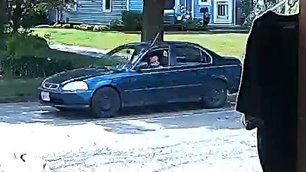 Navarre police are seeking help from the public on identifying the driver of a blue sedan, who may have been involved in a two-vehicle crash Friday afternoon. Anyone who can assist is asked to call 330-879-5662.
