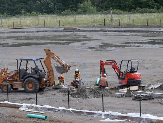 Olympic Peninsula Construction has begun work on the