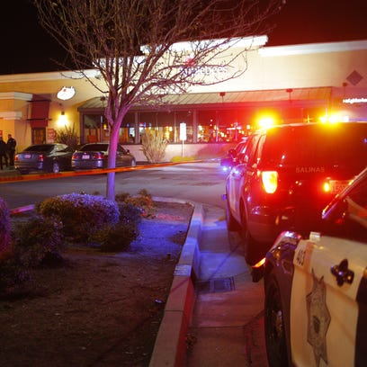 One man was shot outside the Applebee's in Salinas