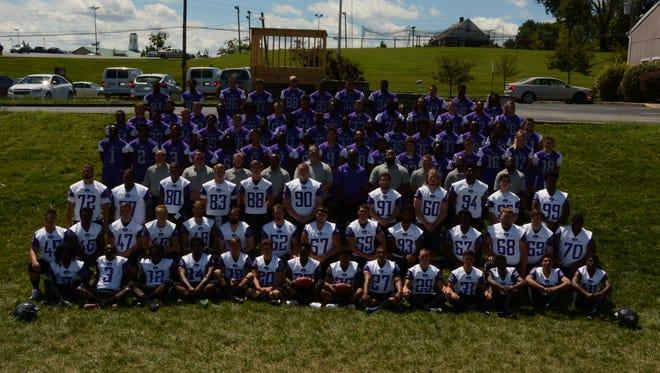 This is the 2016 Cincinnati Christian University football team, the first varsity program for the university.