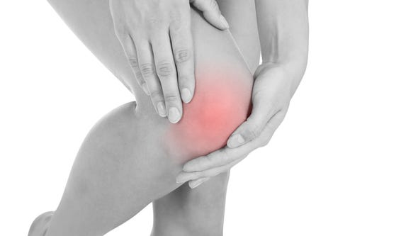 The meniscus can tear due to trauma or overuse, or