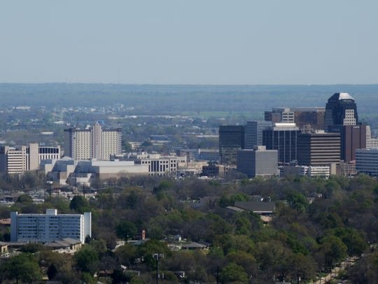 The city of Shreveport.