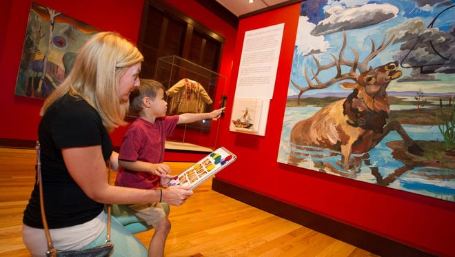 The Rockwell Museum will host a series of kid-friendly workshops next week for spring break.