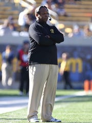 Grambling State head football coach Broderick Fobbs.