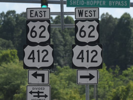 The future of U.S. Highway 412 will be discussed at