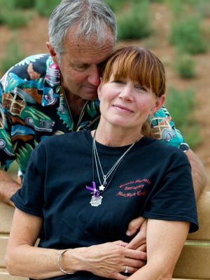 Ron and Tammy Misner, parents of Sean, part of the Granite Mountain crew who died in 2013.
