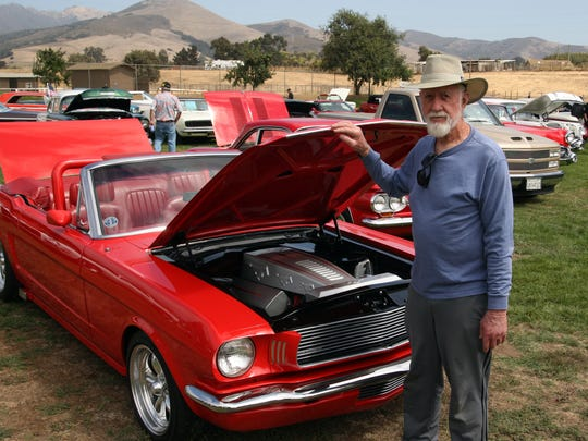 Classic Car Show at the Monterey County Sheriff's Posse Grounds