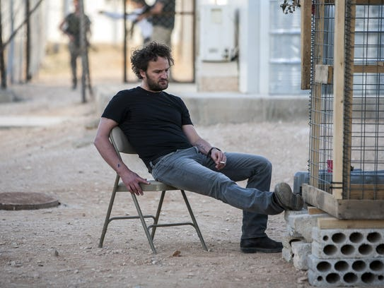 Stationed in a covert base overseas, Jason Clarke plays