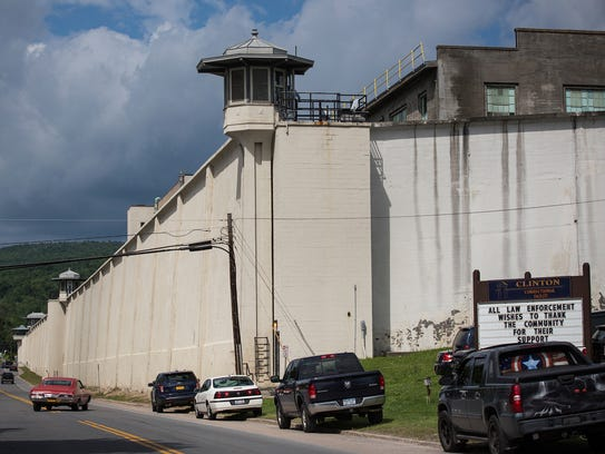 Clinton Correctional Facility is seen on June 18, 2015,