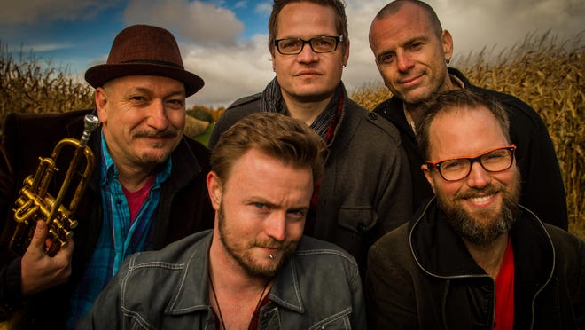 Celtic rock band Enter the Haggis will perform live in concert at 7 tonight at Vinyl Music Hall.