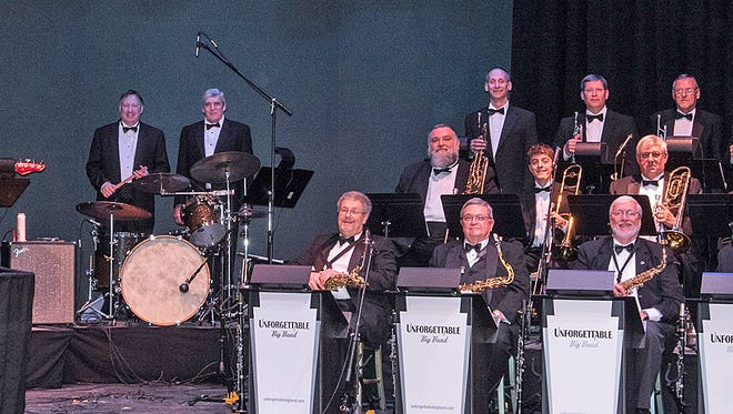 The Unforgettable Big Band at a recent Frank Sinatra tribute performance at York Little Theatre.