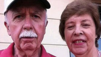 Police are searching for Bob and June Runion who were last seen Thursday, Jan. 22, 2015. The couple drove to McRae, Ga., from Marietta, Ga., to buy a car from a seller they contacted through Craigslist. Bud Runion had placed an ad for a 1966 Mustang.