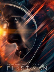 The poster for 'First Man,' starring Ryan Gosling.