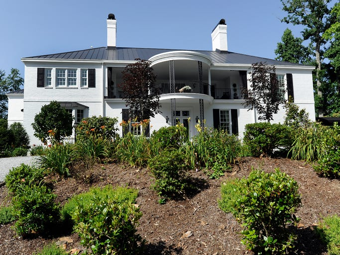 Hopewood, the circa 1938 Flat Rock  home of Victoria and Dennis Flanagan, will be part of the Flat Rock Historic Homes Tour July 12.