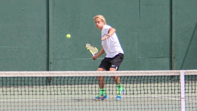 Austin Hardy Ready At No 1 Singles For Desert Hills Tennis