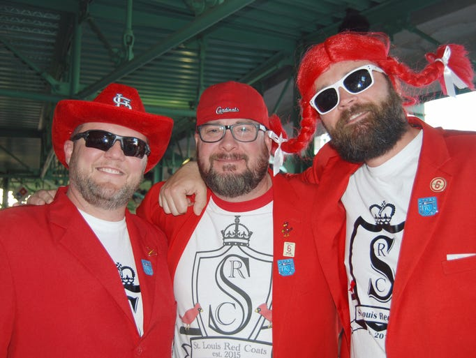 Kyle Reed, Jeremiah Nickels and Casey Rogers (STL Red
