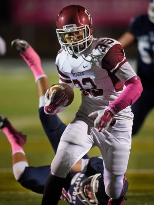 De Pere's Nik Ohuafi was the Fox River Classic Conference's leading rusher last season before tearing an ACL during a first-round playoff game. Ohuafi will join the University of Wisconsin football team as a walk-on player.