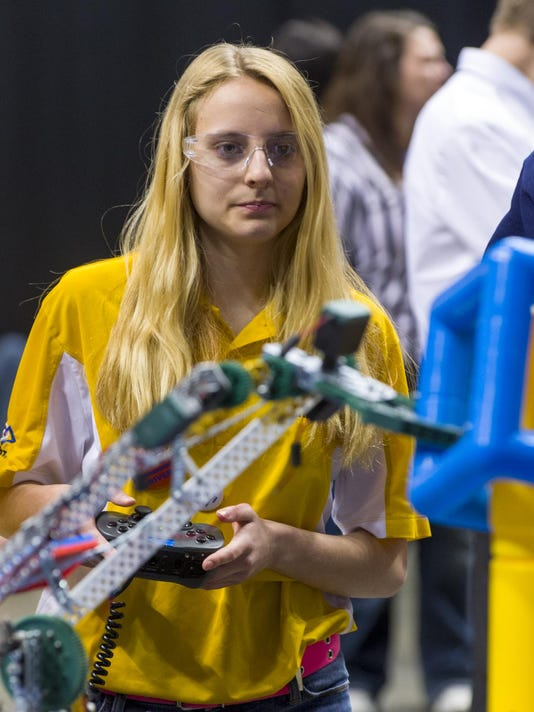 The 3rd Annual City of Indianapolis VEX Robotics Championship