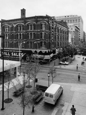 Will Sales building, Fourth and Liberty streets, in 1979.