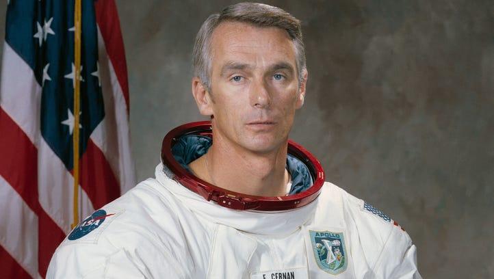 "Eugene ""Gene"" Cernan, one of 14 astronauts that NASA"