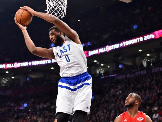 NBA: All Star Game, 2016 NBA All Star Game, Andre Drummond All-Star
