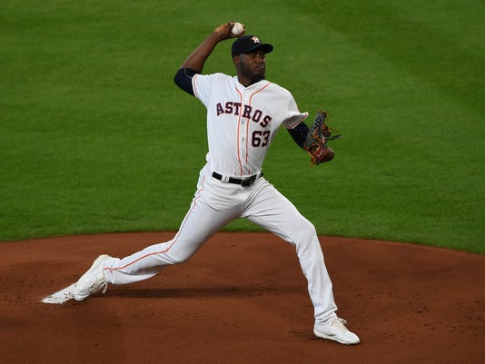 MLB: Oakland Athletics at Houston Astros