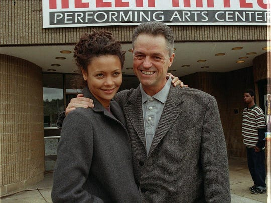 In 1998, Jonathan Demme premiered his film, 'Beloved,' at the former Helen Hayes Performing Arts Center in Nyack. He's seen here with actress Thandie Newton.
