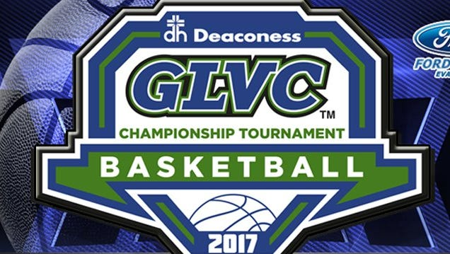 2017 Great Lakes Valley Conference Basketball Tournament logo