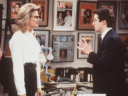 "A ""Murphy Brown"" revival, due this fall on CBS, takes the gang into the social-media age, and the cable-news environment, tackling attacks on the press."