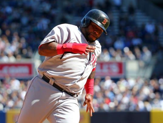 USP MLB: BOSTON RED SOX AT NEW YORK YANKEES S BBA USA NY