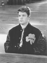 "Sean Astin starred in ""Rudy,"" the story of a man whose lifelong dream was to play football for Notre Dame despite a life of personal struggle and sacrifice. Filmed in South Bend"