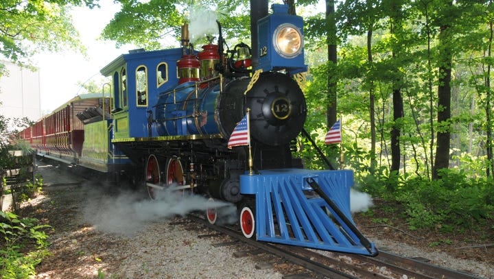 Kings Island's trains offer ride through history